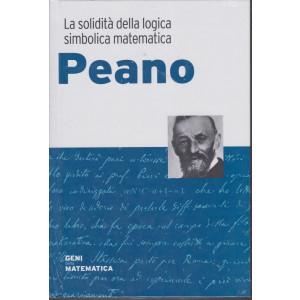 Geni della matematica - Peano - n. 45 - settimanale - 17/12/2020- copertina rigida
