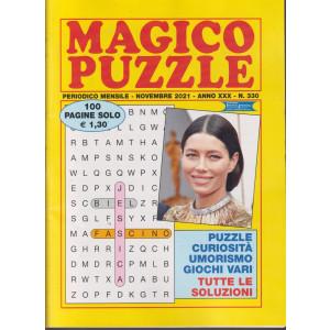 Magico Puzzle - n. 330 - mensile - novembre 2021- 100 pagine