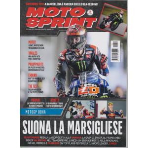 Motosprint - n. 14- settimanale - 6/12 aprile  2021 -