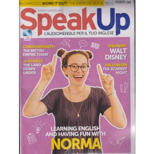 Speak Up - n. 439 -ottobre  2021 - mensile - rivista + cd audio