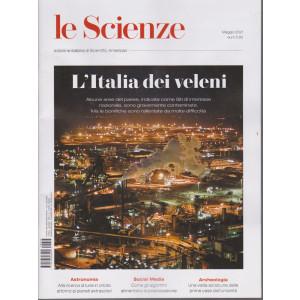 Le Scienze - L'Italia dei veleni -  n. 633 - maggio  2021 - mensile