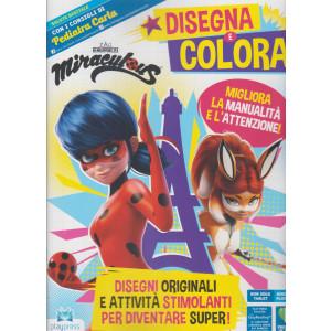 Miraculous disegna e colora - n. 2 - maggio - giugno  2021 - bimestrale