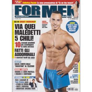 For Men Magazine - n. 216 - febbraio  2021 - mensile
