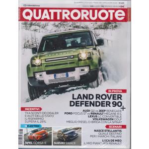 Quattroruote +Il podio dei capolavori   - n. 786 -febbraio  2021 - mensile - 2 riviste