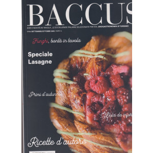Baccus - n.84 -settembre - ottobre  2021- bimestrale