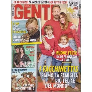 Gente - n. 52 - settimanale - 8/1/2021