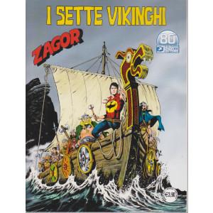 Zagor -I sette vikinghi - n. 719 - mensile - marzo 2021