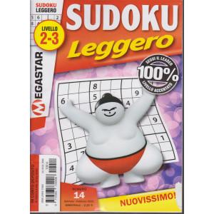 Sudoku Leggero - livello 2-3 - n. 13 - gennaio - febbraio 2021- bimestrale