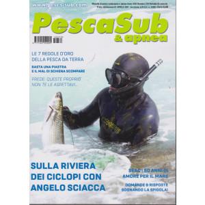 PescaSub & apnea - n. 379 -1 aprile  2021 - mensile