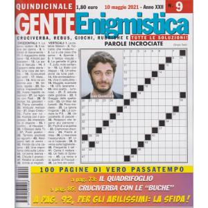 Gente Enigmistica - n. 9 - 10 maggio  2021 - quindicinale - 100 pagine di vero passatempo