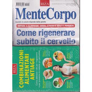 Mentecorpo - + il libro Combinazioni alimentari antiage- n. 154 -novembre - dicembre   2021 - bimestrale - rivista + libro