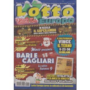 Lotto Europa - n. 12 - mensile - dicembre 2020