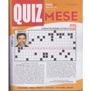 Domenica Quiz Mese - mensile n. 1 - gennaio 2021