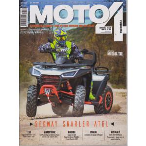 Moto 4 -n. 169 - bimestrale - giugno - luglio  2021 -