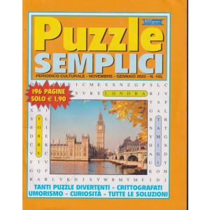 Puzzle semplici - n. 105- novembre - gennaio 2022    - 196 pagine