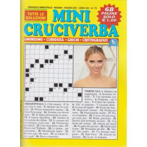 Mini Cruciverba - n. 173 - bimestrale -maggio - giugno  2021 - 68 pagine