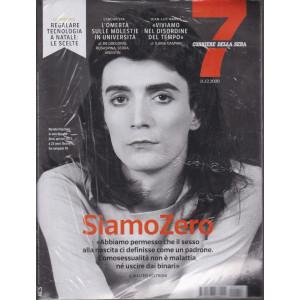 Sette - Corriere della sera - n. 50 - 11/12/2020 - settimanale + 5 mascherine