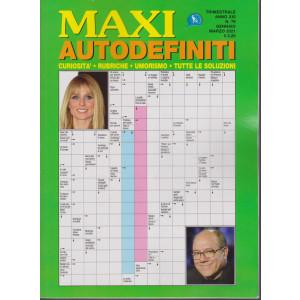 Maxi Autodefiniti - n. 76 - trimestrale - gennaio - marzo 2021