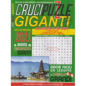 Crucipuzzle giganti - n. 3 - mensile - 15/10/2021