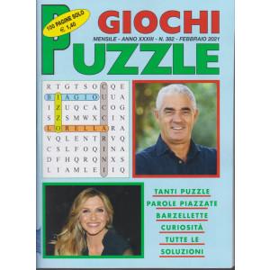 Giochi Puzzle - n. 382 - mensile - febbraio 2021- 100 pagine