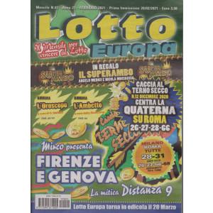 Lotto Europa - n. 2 - mensile - febbraio 2021