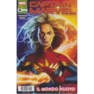 Captain Marvel - n. 20 -Il mondo nuovo -  mensile -25 febbraio 2021