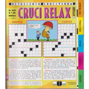 Cruci Relax - n. 209 - mensile - novembre  2021 -