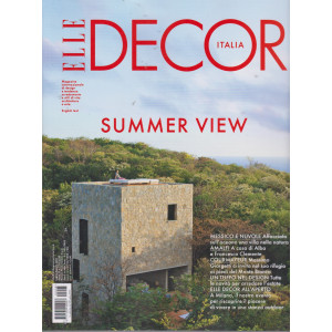 Elle Decor - n. 8  - luglio - agosto   2021 - mensile -