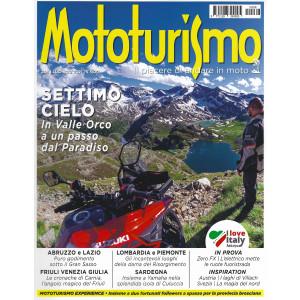 Mototurismo - n. 268 -luglio - agosto 2021 - bimestrale