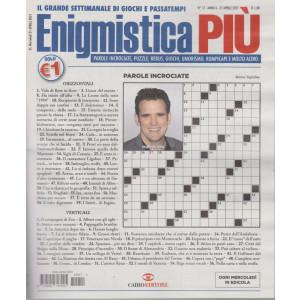 Enigmistica Piu' - n. 17  - settimanale -27 aprile  2021