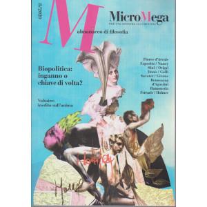 Micromega - Almanacco di filosofia - n. 8 -17/12/2020 - bimestrale -