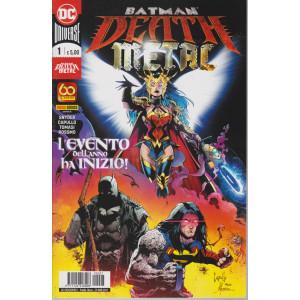 Batman Death metal - L'evento dell'anno ha inizio! - n. 7 - mensile -25 marzo 2021