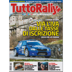 Tutto Rally + n. 4 - aprile  2021- mensile -