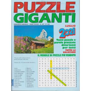 Puzzle Giganti - n. 447 - mensile -luglio   2021