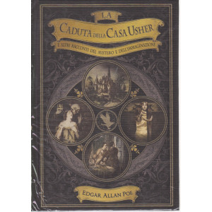 I primi maestri del fantastico - La caduta della casa Usher e altri racconti del mistero e dell'immaginazione - Edgar Allan Poe -  n. 9 -  - settimanale - 2/4/2021 - copertina rigida