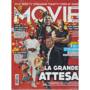 Best Movie - n. 5   -maggio  2021 - mensile + Best Streaming 2021 - 2 riviste