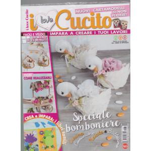 I Love Cucito  Extra - n. 33 - bimestrale - gennaio - febbraio 2021