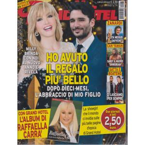 Grand Hotel - n- 1  - settimanale -31 dicembre 2020 + L'album di Raffaella Carrà