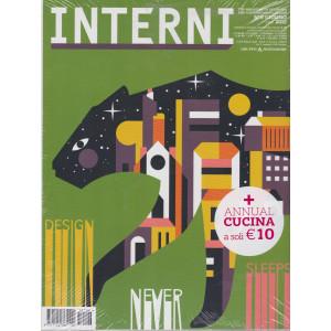 Interni + Interni annual cucina  2021 - n. 6  - giugno  2021 - mensile - 2 riviste