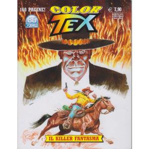 Tex Color - Il killer fantasma - n. 19 - agosto 2021 - semestrale - 160 pagine!