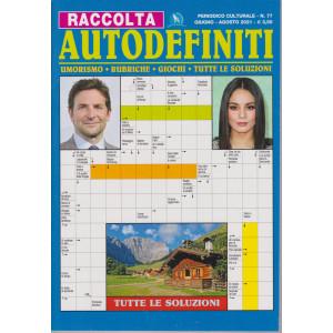 Raccolta Autodefiniti - n. 77 - giugno - agosto 2021 -