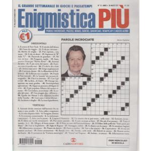 Enigmistica Piu' - n. 13  - settimanale -30 marzo 2021
