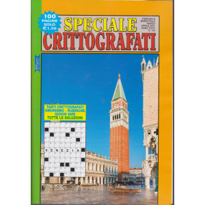 Speciale Crittografati - n. 154 - bimestrale - marzo - aprile 2021- 100 pagine