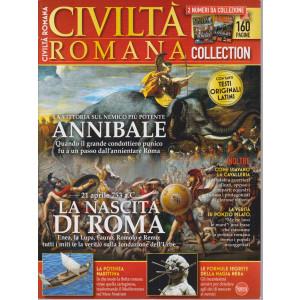 Civilta' Romana Anthology - n. 3  - bimestrale -aprile - maggio 2021 - 2 numeri da collezione - 160 pagine