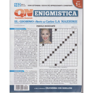 Enigmistica - n. 162 - 5/4//2021- settimanale