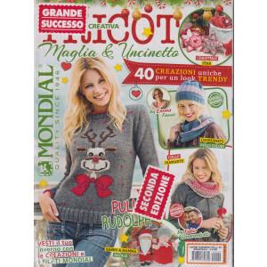 Lavori Femminili Più - Tricot maglia & uncinetto- n, 49 - bimestrale - 2 riviste