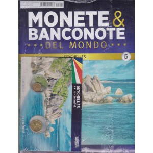 Monete e banconote del mondo uscita 5 - Seychelles - 1 e 10 centesimi - quattordicinale - 24/2/2021