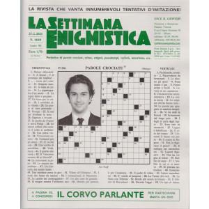 La Settimana Enigmistica - n. 4640 - 25/2/2021 - settimanale