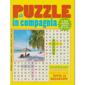 Puzzle  in compagnia - n. 36 - trimestrale - giugno - agosto 2021 - 132 pagine