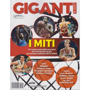 Giganti del Basket -n. 1 - dicembre 2020 - quadrimestrale -
